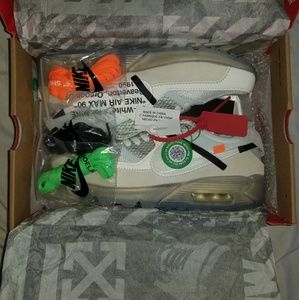 d05042b4 nike×offwhite Shoes | Off White Nike Air Max 90 Size 105 Stockx ...